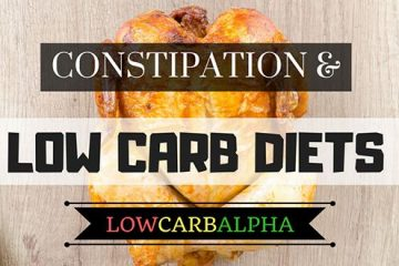 constipation and low carb diets